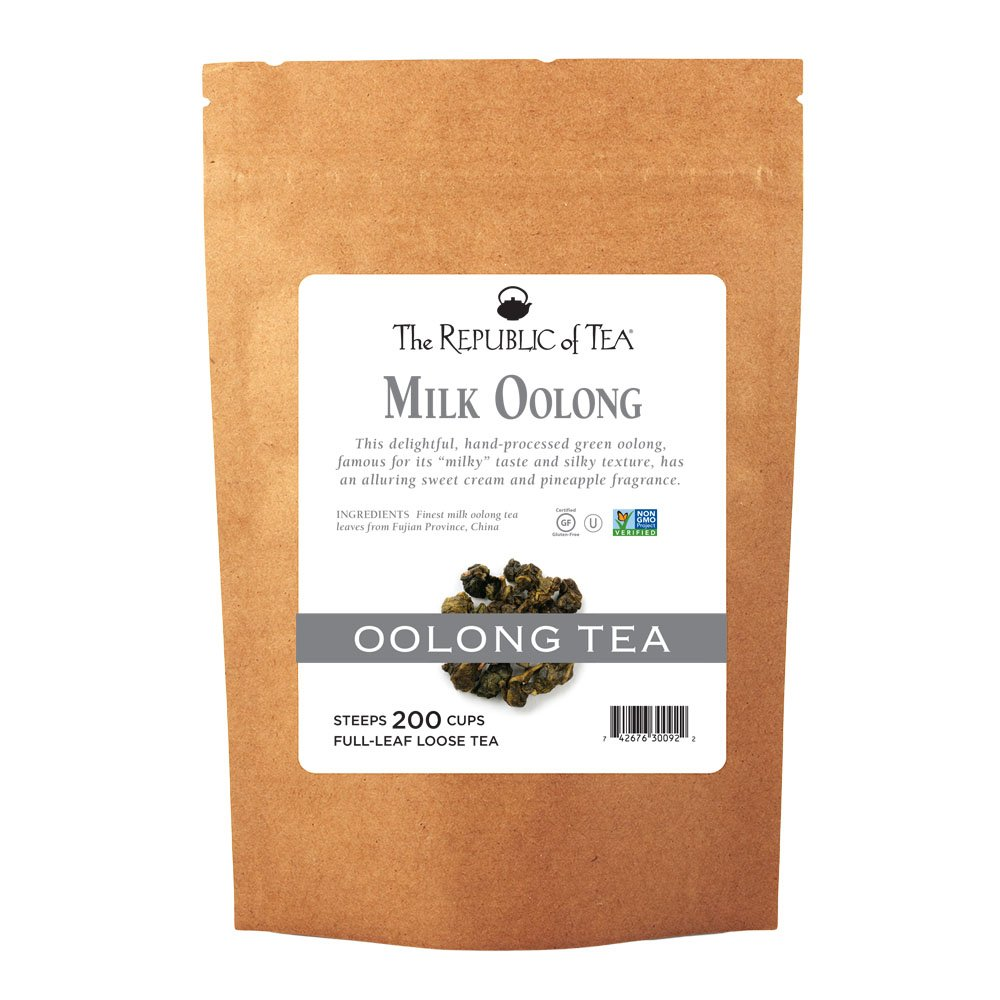 The Republic Of Tea Milk Oolong Full-Leaf Tea, 1 Pound. / 200 Cups by The Republic of Tea (Image #1)