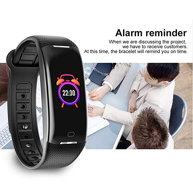 Amazon.com : iBaste_S Newest Smart Bracelet, Color Screen Professional Waterproof Pedometer Wristband, Heart Rate Monitor, Sleep Calories Monitor Call ...