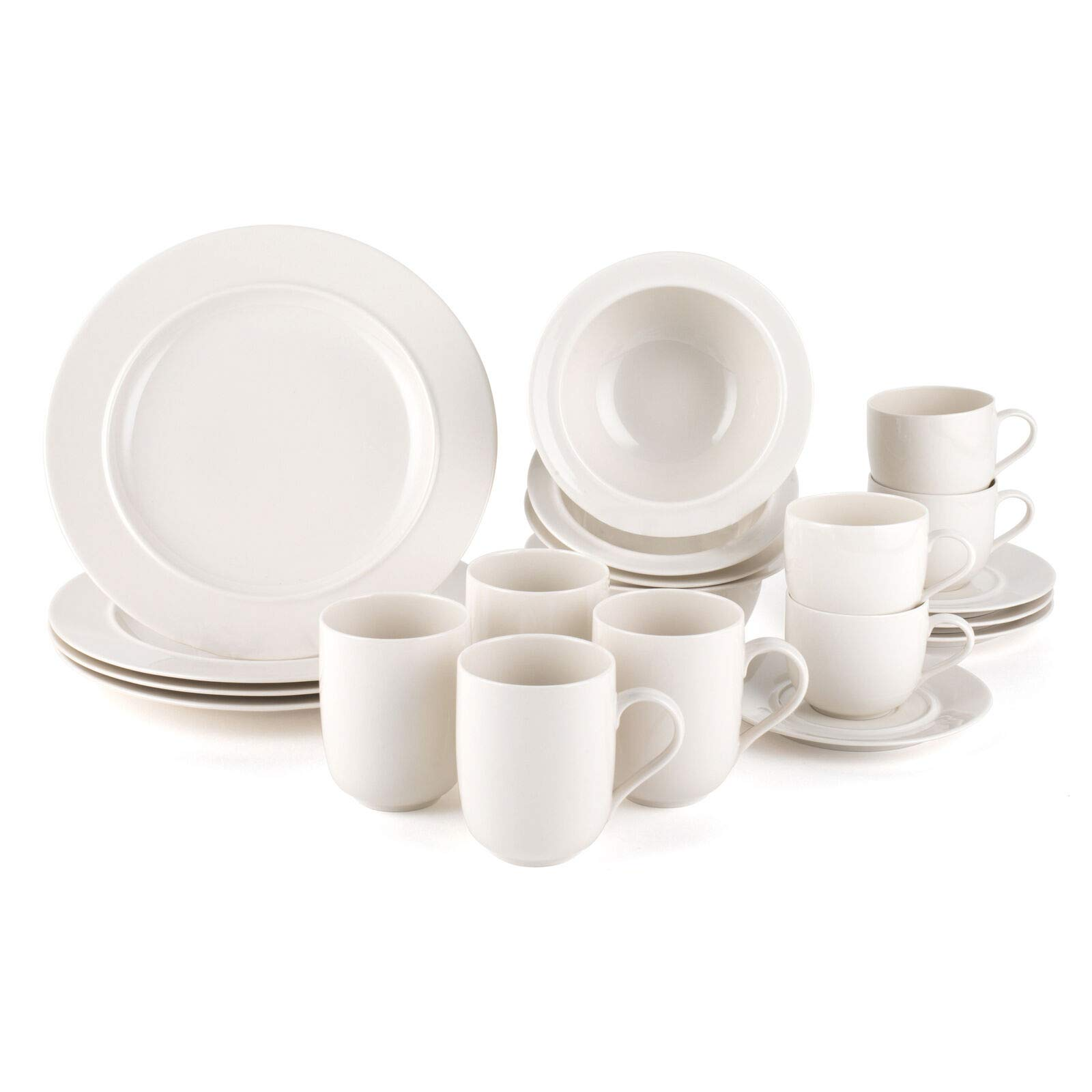 Alessi La Bella Tavola Porcelain 4 Place Setting Breakfast And Dinner Dining Set Buy Online In Dominica At Dominica Desertcart Com Productid 66981557