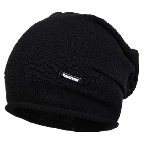 Kenmont Berretto Unisex Beanie Hat Sportivo uomo a maglia Copricapo Cap  Hip-hop Cappello ( 6c30eef95eba