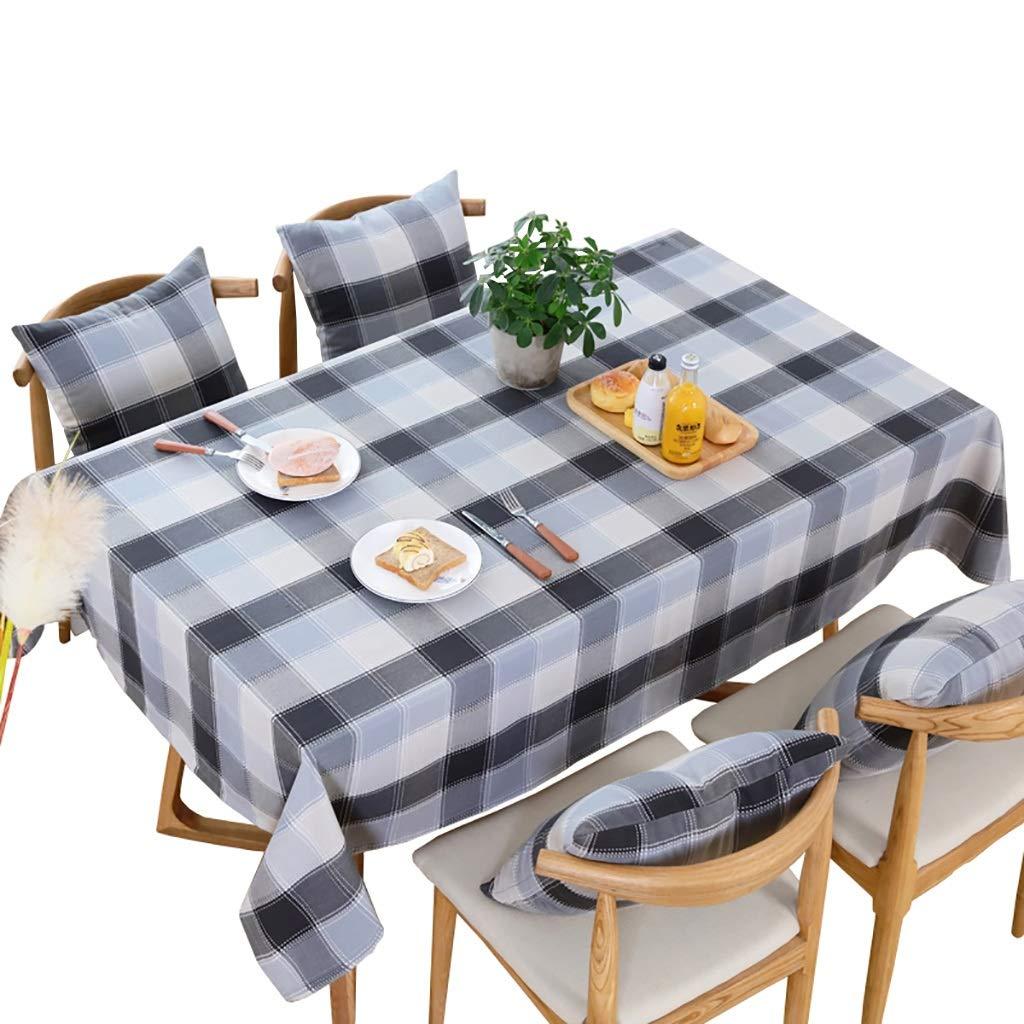 Hongsebuyi Tischdecke Baumwolle Und Leinen Wasserdicht Anti-verbrühend ÖlBesteändig Tee Tischdecke Geeignet Für Home Party Tischdecken (größe   135x200cm)  110x160cm