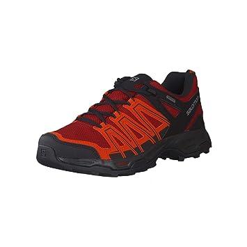 Salomon Eastwood GTX Zapatos de Gore Tex Zapatos Exterior Senderismo Hombre, Hombre, Red Dahlia