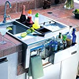 Lynx CS30-1 Built-In Cocktail Station with Sink and Ice Bin Cooler, 30-Inch