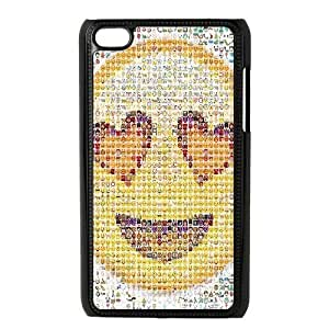 Emoji Custom Hard Back Cover Case for iPod Touch 4 by Nickcase