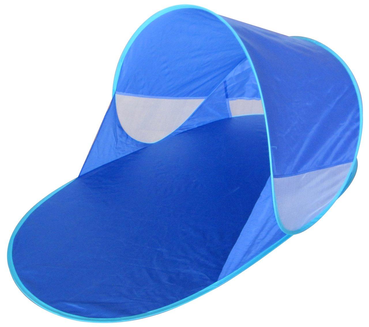 Tente de plage OPTIMALE ANTI UV PROTECTION bébé enfant famille abri parasol soleil montage automatique Pop Up Instantané Kiddus Accesorios SL
