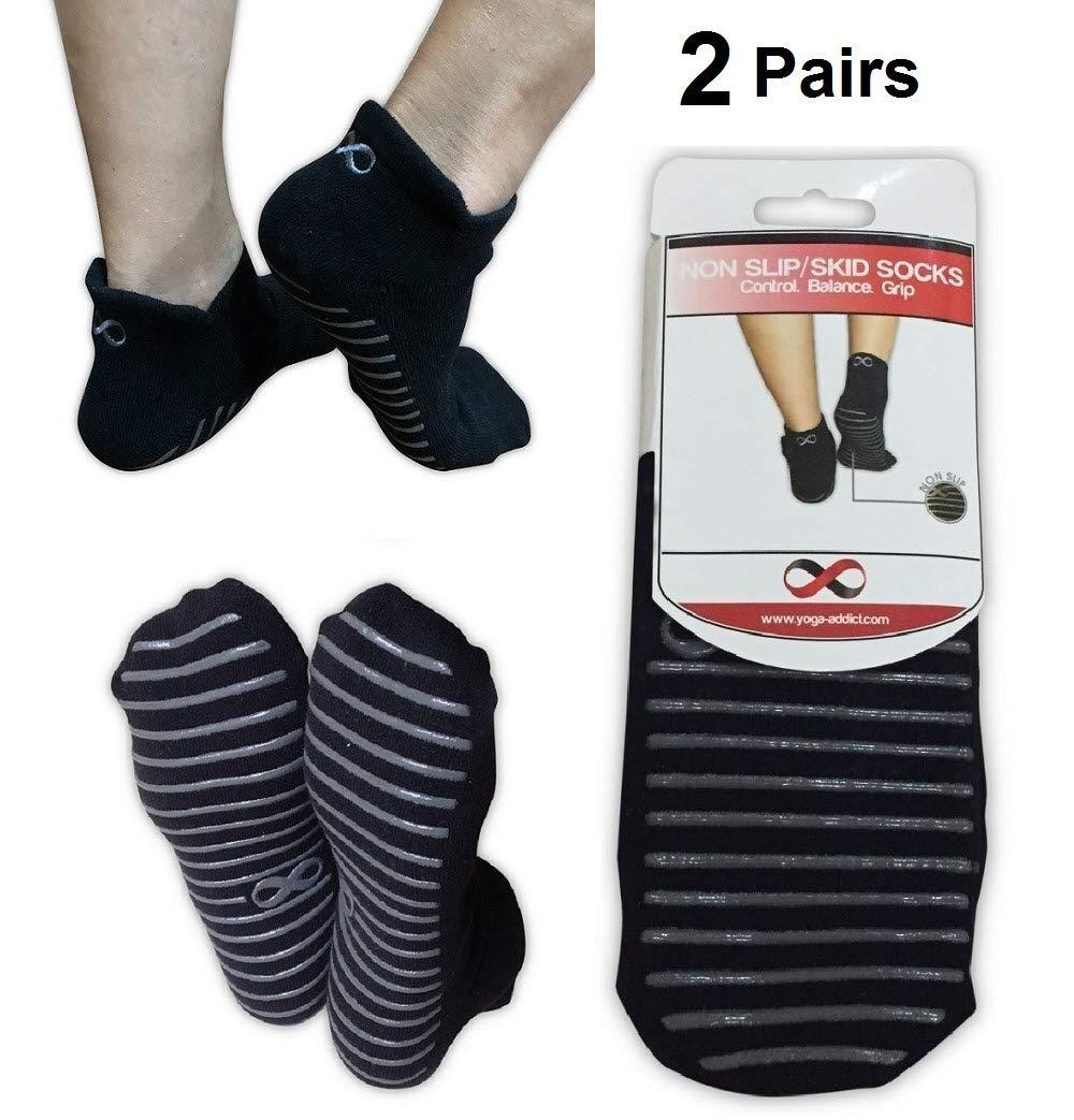 Non Slip Skid Socks with Grips, For