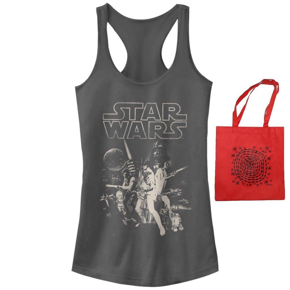 Star Wars Junior Womens' Poster Tank Top & Tote - Multi-pack (Large)