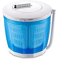 Qwhome [Version Version améliorée] Machine à Laver et sèche-Linge Non électriques à manivelle Manuelle pour vêtements, Lave-Linge/sécheuse de comptoir
