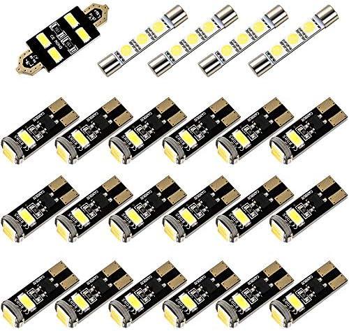 INEX LED ルームランプ 金メッキ キャンセラー内蔵 SMD 88発 23点セット 9PA カイエン 957 [H14-H22]