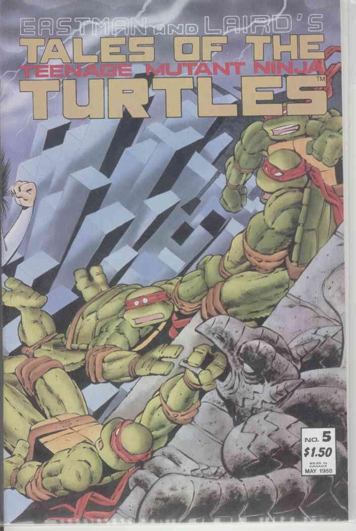 Amazon.com: Tales of the Teenage Mutant Ninja Turtles #5 FN ...
