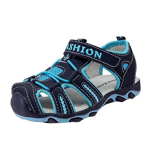 4655337f39d Sandalias para Bebés Xinantime Zapatos para niños pequeños Zapatos cerrados  Baby Boy Girl Sandalias de playa