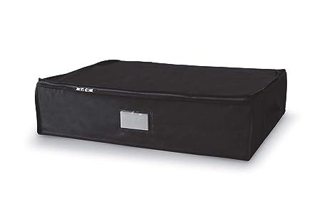Compactor Noir Caja de Almacenaje Al Vacío, Talla L, 145 l, Negro Compress, RAN4423, Compression Bag : Blank Pet+PE Film 0.052Mm | Non Woven 75G