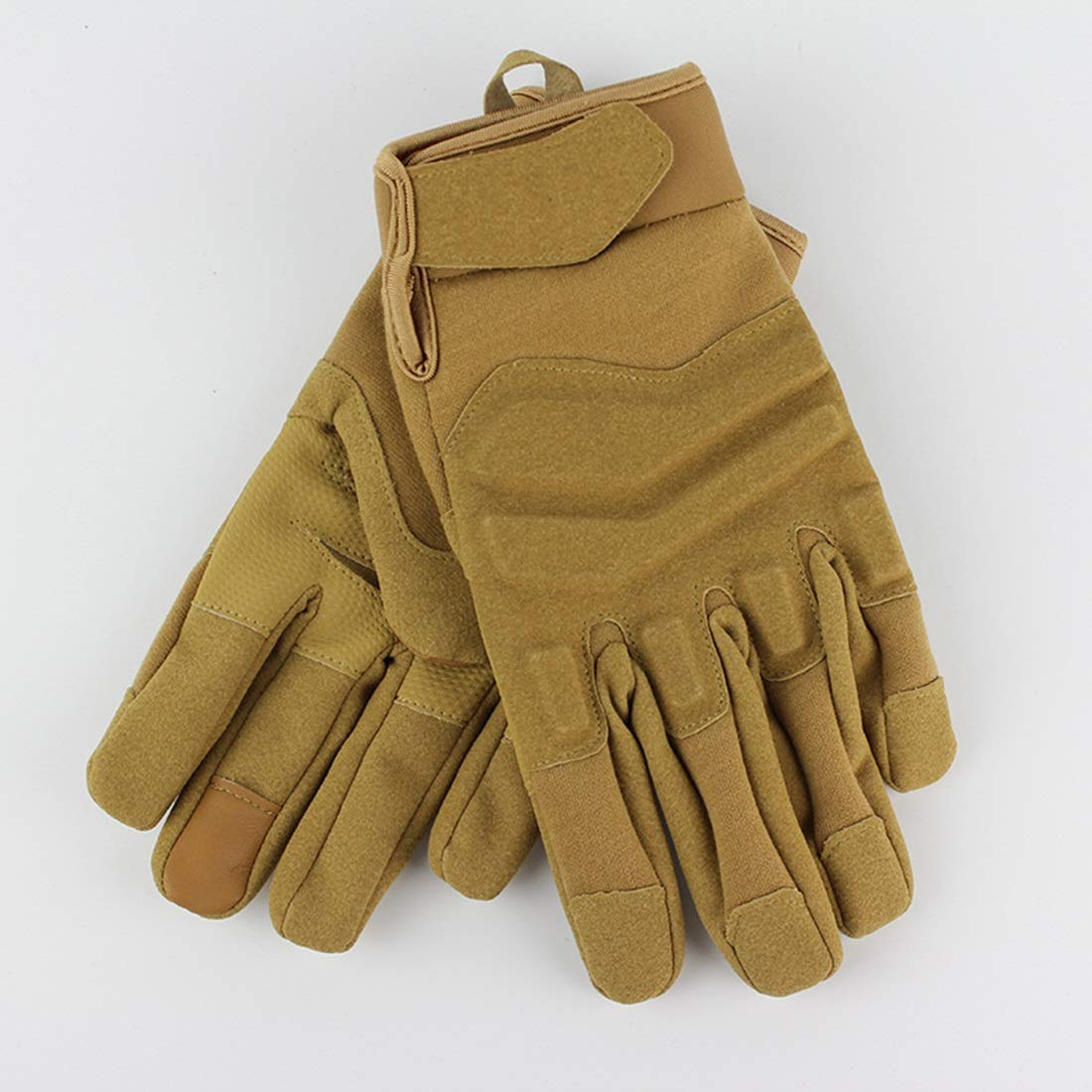 Carriemeow Touch Screen Style Full Tactical Gloves Outdoor Sports Tactical Gloves Bicycle Motorcycle Riding Gloves