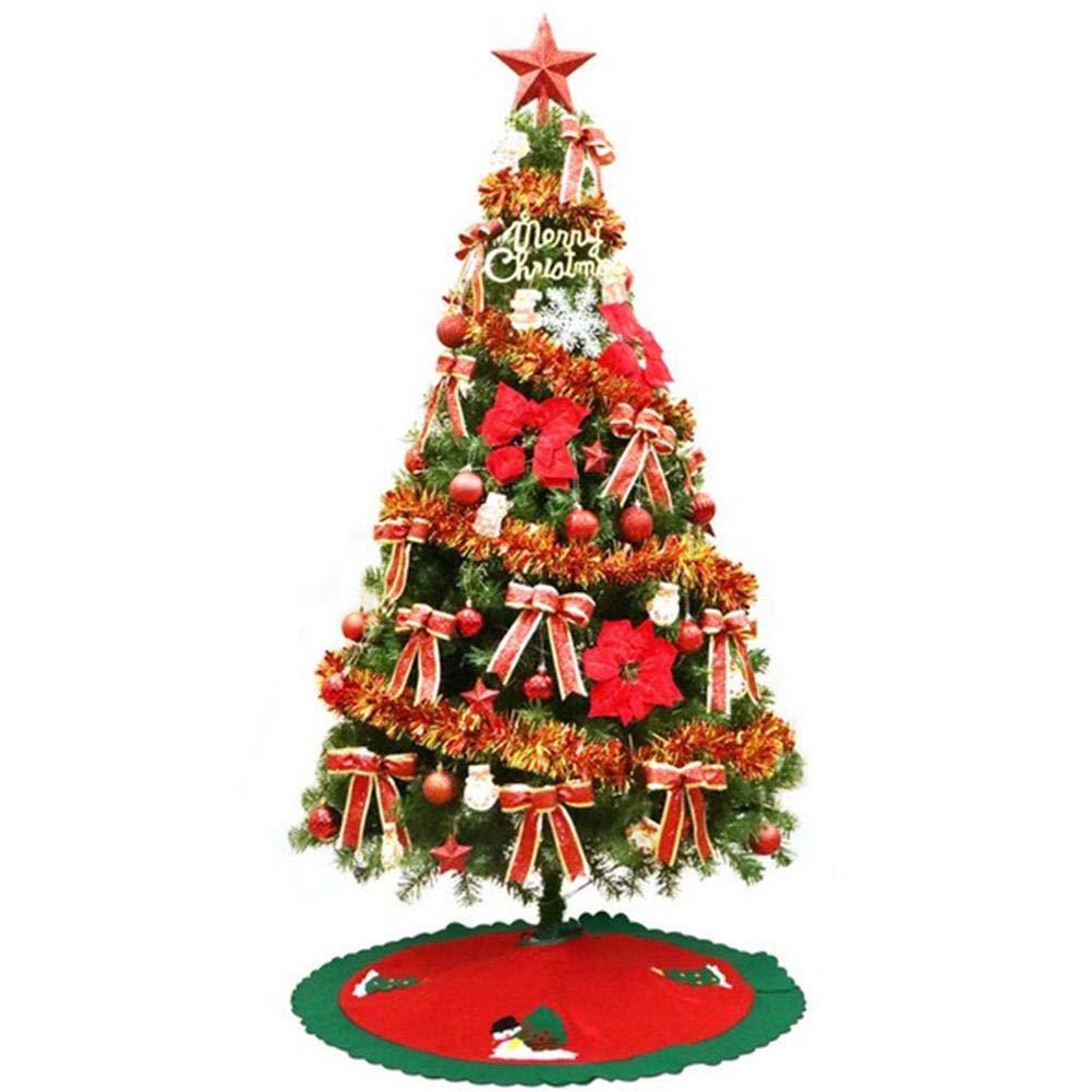 HoneybeeLY Albero di Natale, Xmas Decoration Supplies Festive Party Supplies Home Garden 120cm Decorazione albero di Natale