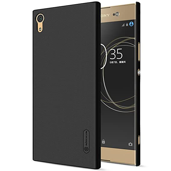 wholesale dealer 41d00 0eddc Nillkin Super Frosted Shield Hard Back Cover Case for Sony Xperia XA1 Ultra  - Black