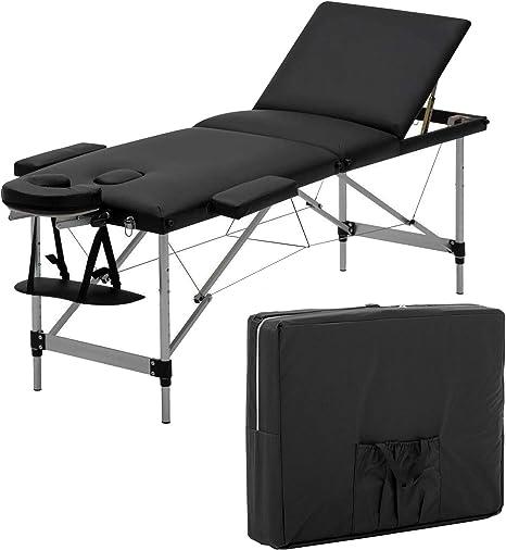 Lettino Massaggio Portatile Leggero.Lettino Da Massaggio Portatile Leggero Pieghevole 3 Sezioni
