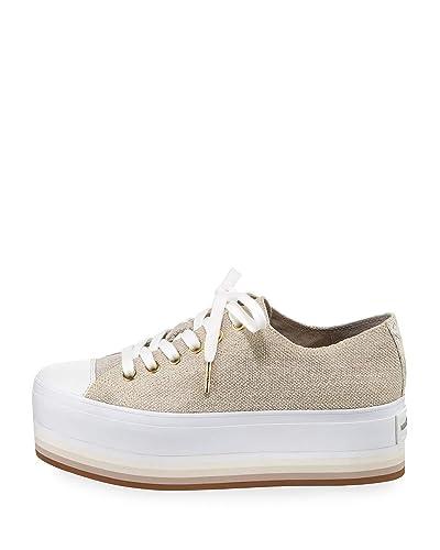 dee81508d145 Michael Michael Kors Womens Ronnie Sneaker Fabric Low Top