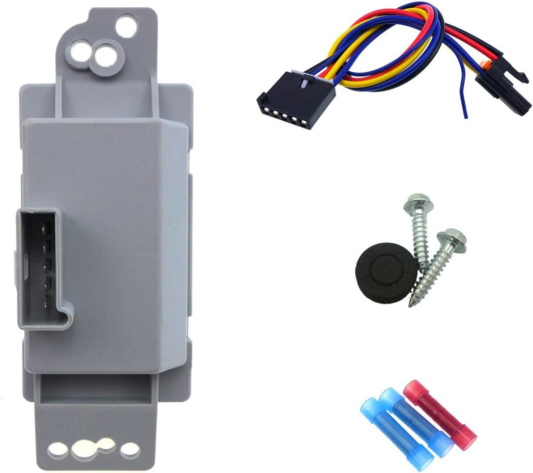 HVAC Blower Motor Resistor Front,Rear Autopart Intl 2400-308378
