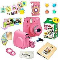 Fujifilm Instax Mini 9 Instant Camera FLAMINGO PINK w/...
