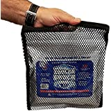 """4 Pack 10"""" by 10"""" mid-size Cooler Shock Mesh Zipper Bags - Carry, Insulate, Enhance Performance (Mid 10"""" by 10"""")"""