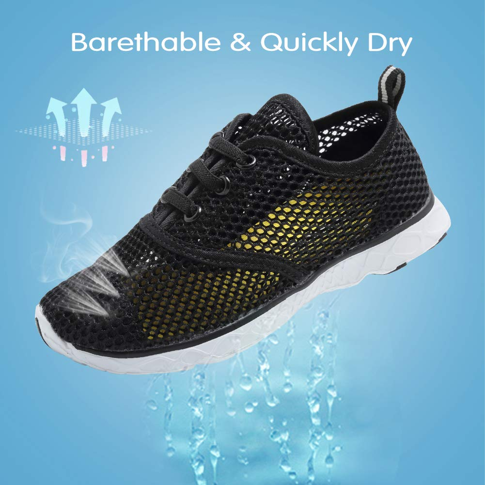 U118SSXT001 CIOR Merence Boys /& Girls Water Shoes Aqua Shoes Athletic Sneakers Lightweight Sport Shoes Toddler//Little Kid//Big Kid