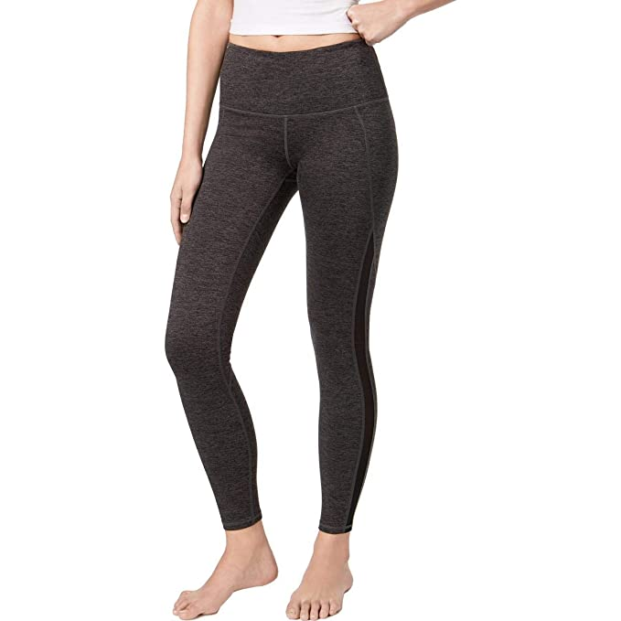 f66bf88a66 Gaiam Womens Marled Heathered Athletic Leggings Gray XS at Amazon Women's  Clothing store: