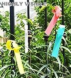 MR-LABEL Wrap Around Plastic Plant Nursery Garden Labels Tags-Waterproof- Assorted Color(200pcs)