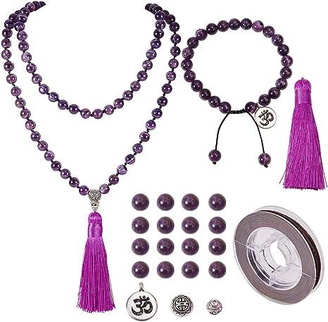 SUNNYCLUE 10 Sets Forma Mixta Hueco Plateado Abalorios Jaula difusor de Aceite Colgante Collar Que Hace Kits con 18 20 Collar