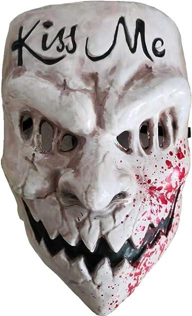 Halloween 2020 Mask White Amazon.com: Gmasking 2020 Election Year Kiss Me Cosplay Mask