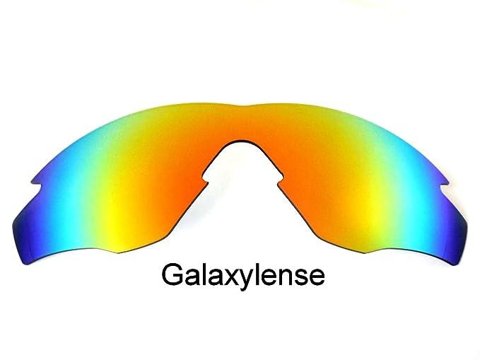 Galaxy Lentes De Repuesto Para Oakley M2 Frame Rojo Polarizados (Rojo)