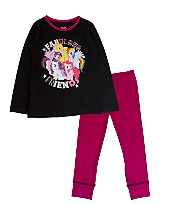 37bc85408f Kids Girls My Little Pony Pyjamas Pj's Set Childrens Size UK 1-10 Years:  Amazon.co.uk: Clothing