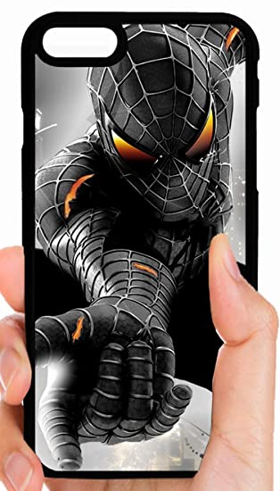 Amazon.com: Amazing Spiderman traje negro teléfono celular ...