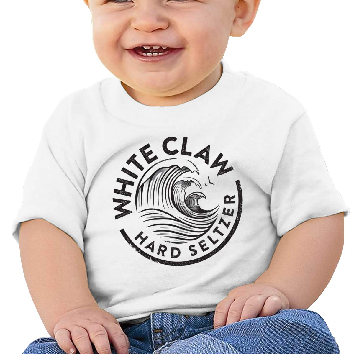Baby White-Claw Shirt Toddler Cotton Tee