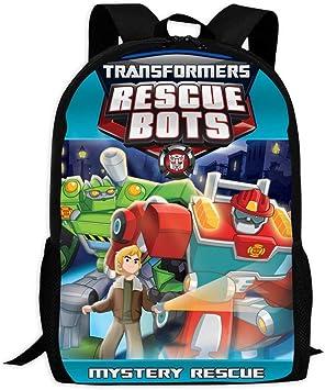 Transformers Backpack School Bag Children Student Boys Girls Gift 4 Color