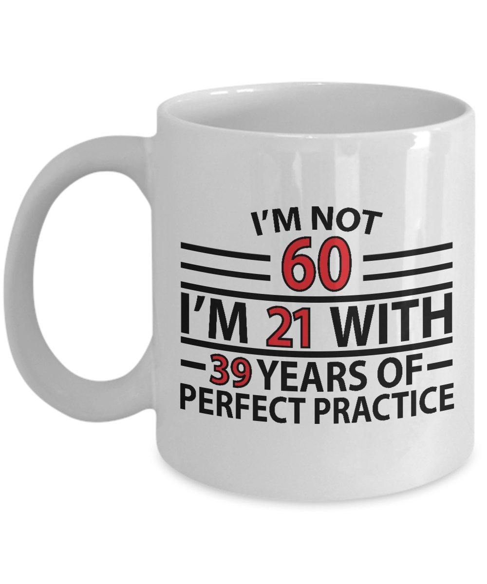 60th Birthday Gift Mug