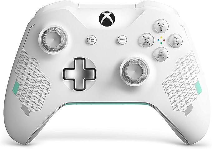 Microsoft - Mando Inalámbrico Edición Especial (Xbox One), color blanco: Microsoft: Amazon.es: Videojuegos