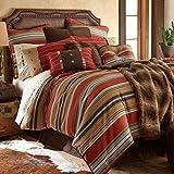 HiEnd Accents 5 Piece Calhoun Western  Bedding Set, Super King