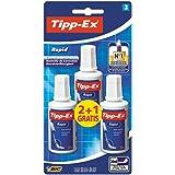 Tipp-Ex Rapid Correction Fluid - 20 ml, Box of 3