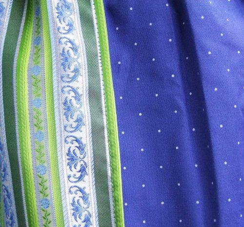 Süßes Isar Trachten Kinder Dirndl Patricia 3-tlg. - Hübsches Kleid mit Bluse und Schürze
