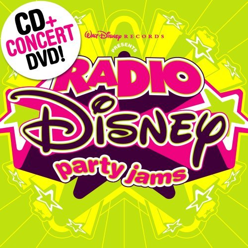 (Radio Disney Party Jams [CD/DVD Combo] by Disney)