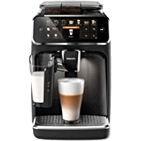 Philips 5400 serisi EP5441/50 tam otomatik kahve makinesi, 12 kahve spesiyalitesi (LatteGo süt sistemi) mat siyah/piyano…