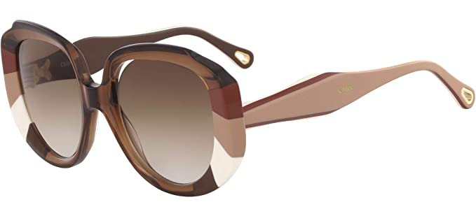 Gafas de Sol Chloé Venus CE744S Brown/Brown Shaded Mujer ...