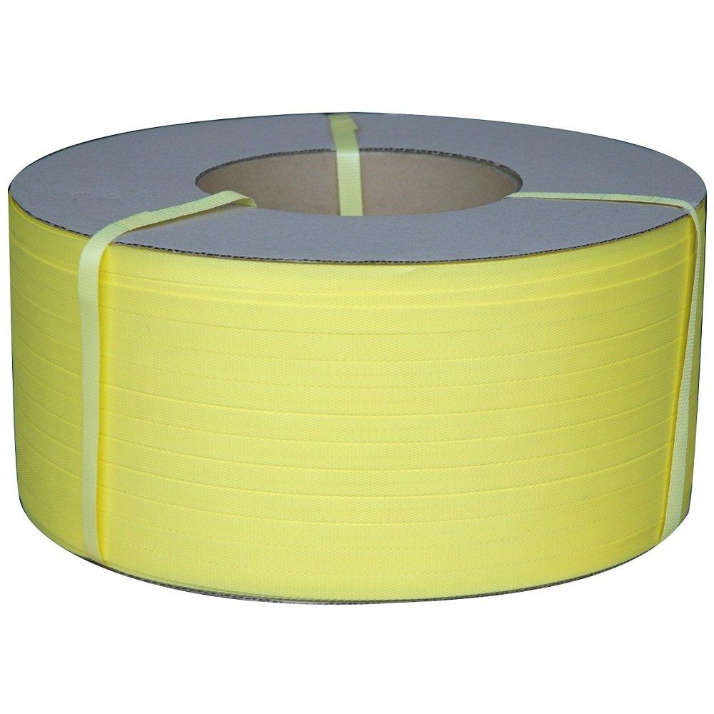 ホリアキ ラップイン PPバンド 15.5mm×2500m巻 WPB15h-2500-Y 黄 2巻入 B00VFXW1U8 黄 黄