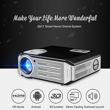 Factorys Mini proyector, 1080P y 200 Pantalla Compatible, 3200 ...
