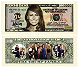 100 Melania Trump First Lady First Family Million