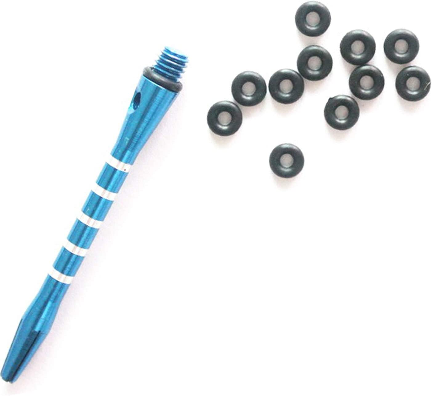 100X Hunting Rubber O Ring Black Washer Flights Darts Arrow Tips AccessoriesO/_ch