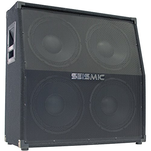 Seismic Audio - 412 Slant GUITAR SPEAKER CABINET - 4x12 400 Watts PA/DJ PRO AUDIO by Seismic Audio