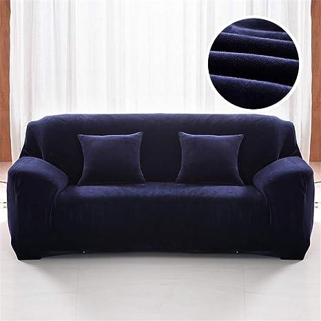 Amazon.com: Ranferuyk Plush Sofa Cover 1/2/3/4 Seater Thick ...