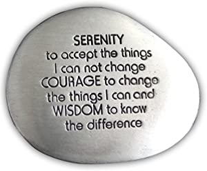Cathedral Art Serenity Prayer Soothing Stone, 1-1/2-Inch
