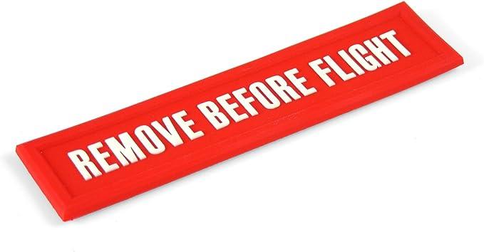 Magnet Remove Before Flight Größe Ca 11 5cm X 3 0 Cm 3d Magnet